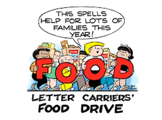 Letter Carriers Food Drive
